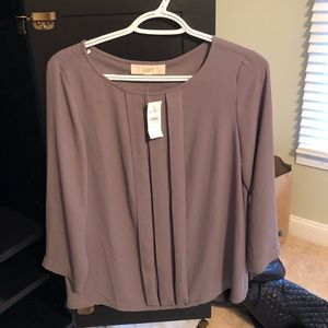 New with tags Grey Loft blouse